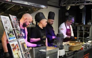Кулинарный джем-сейшн: бесплатный мастер-класс «Русский стрит-фуд: сезон 2019»