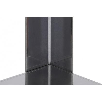 Стеллаж кухонный Luxstahl СР-1800х700х300/4 нерж - интернет-магазин КленМаркет.ру