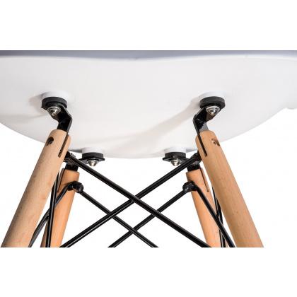 Стул «Eames Лайт» с жестким сиденьем (ножки дерево) - интернет-магазин КленМаркет.ру