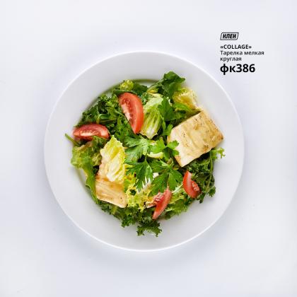 Тарелка мелкая круглая «Collage» 200 мм - интернет-магазин КленМаркет.ру
