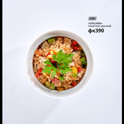 Салатник круглый «Collage» 400 мл - интернет-магазин КленМаркет.ру