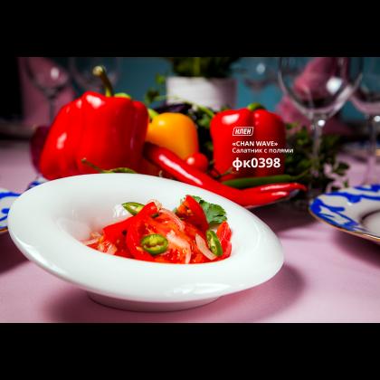 Салатник с полями «Chan Wave» 180 мл - интернет-магазин КленМаркет.ру