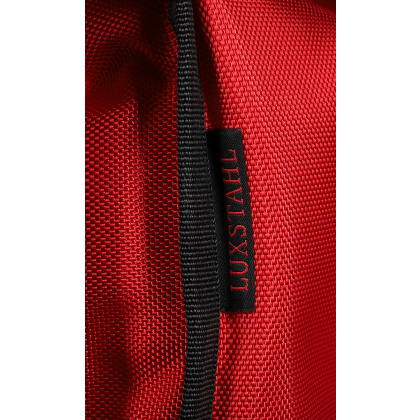 Термосумка на 5-6 пицц 350х350х300 мм фольгированная средняя красная без вентиляции - интернет-магазин КленМаркет.ру