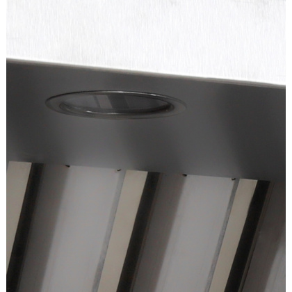 Зонт вытяжной пристенный Luxstahl ЗВП 1400х900 - интернет-магазин КленМаркет.ру