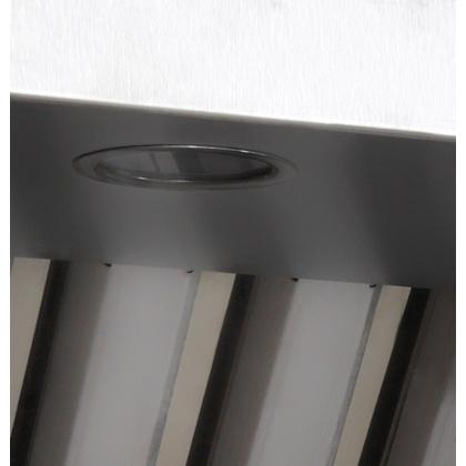 Зонт вытяжной пристенный Luxstahl ЗВП 2000х600 - интернет-магазин КленМаркет.ру
