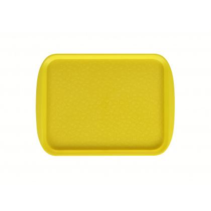 Поднос столовый 330х260 мм желтый  - интернет-магазин КленМаркет.ру