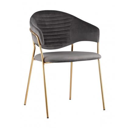 Стул «Энже» с мягким сиденьем (хромированный каркас) - интернет-магазин КленМаркет.ру