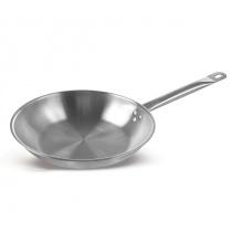 Сковорода Luxstahl 240/50 из нержавеющей стали [C24131]