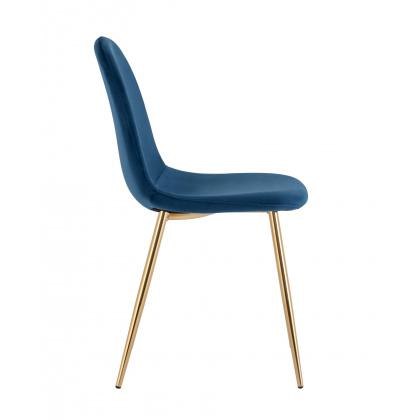 Стул «Айриш велюр» с мягким сиденьем (хромированный каркас) - интернет-магазин КленМаркет.ру
