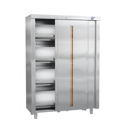 Шкаф для стерилизации столовой посуды и кухонного инвентаря ШЗДП-4-120-02 без полок 320933 - интернет-магазин КленМаркет.ру