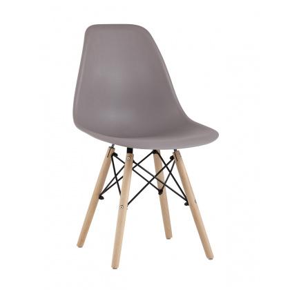 Стул «Eames (4 шт. в упаковке)» с жестким сиденьем (ножки дерево) - интернет-магазин КленМаркет.ру