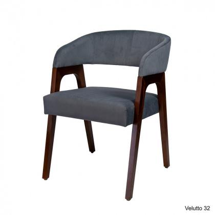 Кресло «Берни» с мягким сиденьем (деревянный каркас) - интернет-магазин КленМаркет.ру