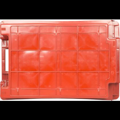 Ящик 600х400х200 мм сплошной, мясо-молочный, ПЭНД [м/м 2.1(2)] - интернет-магазин КленМаркет.ру