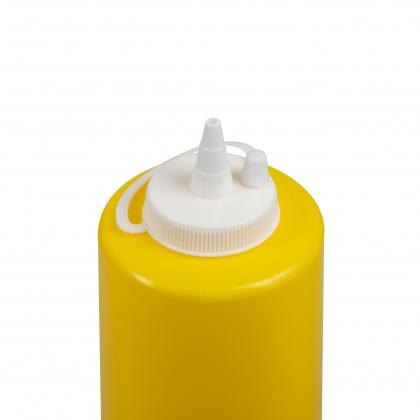 Диспенсер для соуса желтая (соусник) 700 мл - интернет-магазин КленМаркет.ру