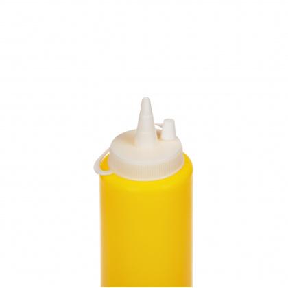 Диспенсер для соуса желтая (соусник) 250 мл - интернет-магазин КленМаркет.ру