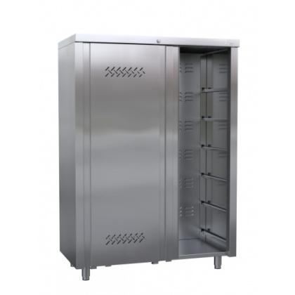 ШКАФ для хлеба  ШЗХ-С-1200.600-02-К (без полок)  к/т 320306 - интернет-магазин КленМаркет.ру
