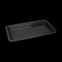 Гастроемкость керамическая 322х168х30 мм «Corone Cottura» черная