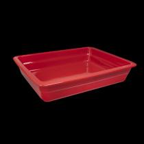 Гастроемкость керамическая 326х265х60 мм «Corone Cottura» красная