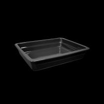 Гастроемкость керамическая 326х265х60 мм «Corone Cottura» черная