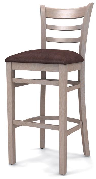 Барные стулья с деревянным каркасом
